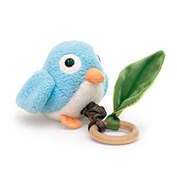 Apple Park Critter Teething Toy, Birdie