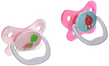 Dr. Brown's PreVent Butterfly Pacifiers 2 Pack - Pink (12+ Months)