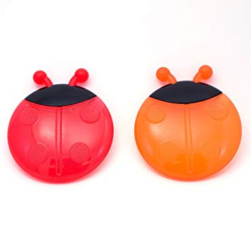 Sassy Ladybug Teethers Developmental Toy, 2 Pack, Colors May Vary
