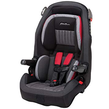 Eddie Bauer Combination Booster Car Seat, Salsa Red
