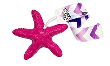 WowieStar and strap bundle - USA FDA Compliant Medical Grade Silicone Baby Teether (Pink - Super...