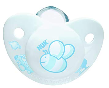 NUK Rose and Blue Silicone 2 Pack BPA Free Pacifier, Size 2, Colors May Vary (Discontinued by Manufacturer)