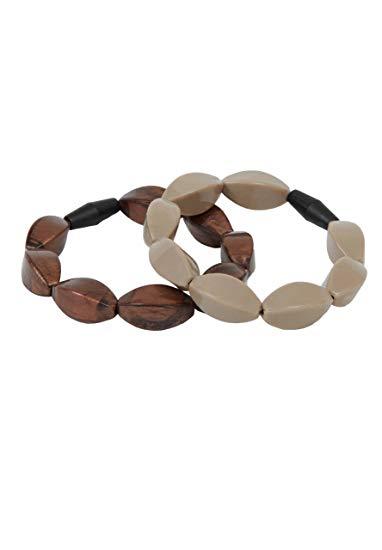 Tulip Teething Bracelets Bronze/Mocha