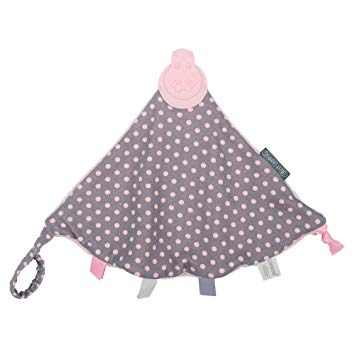 The Comfortchew - Polka Dot Pink