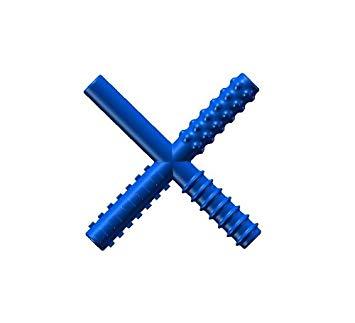 Chew Stixx Plain Blue