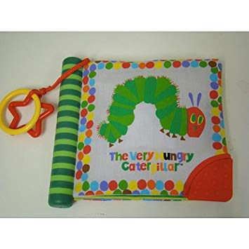 Eric Carle The Very Hungry Caterpillar Soft Teether Book