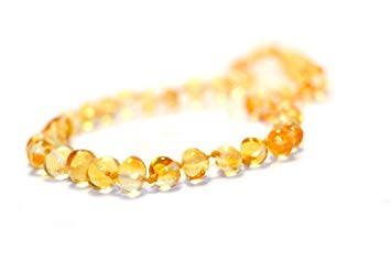 The Art of Cure Baltic Amber Necklace 25 Inch (lemon) - Anti-inflammatory