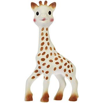 Vullie 616324-3 Sophie the Giraffe Teether Set of 3