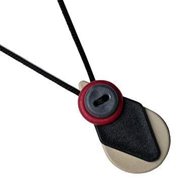 Teething Necklace by BabiLovLinks - Baby SAFE MADE IN THE USA Kara Black - - Baby Teething...