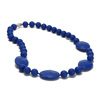 Chewbeads Necklace - Perry - Cobalt Blue