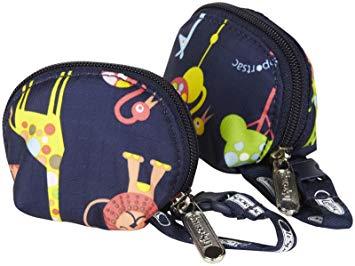 LeSportsac Baby Pacifier - Zoo Cute - 2 Pk